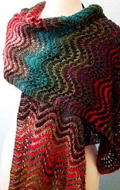 Ravelry: Winding Fields pattern by Suzanne Middlebrooks {free}