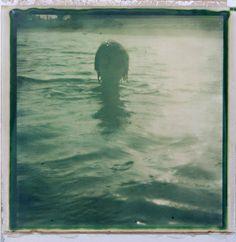 swimming in the sunset • anna morosini