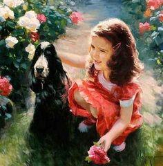 Children paintings by Vladimir Volegov  (10)