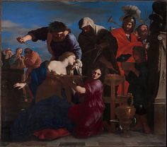 The Sacrifice of Polyxena - Giovanni Francesco Romanelli