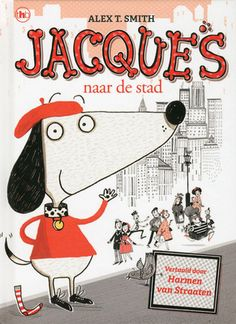 Jacques is een kleine mollige hond met een baret en een trui. Met zijn beste vriendje meneer Wiebelsok beleeft Jacques spannende avonturen. Met zijn humor en naïeve kijk op alledaagse gebeurtenissen is hij onweerstaanbaar! Jacques naar de stad Vandaag gaan Jacques en meneer Wiebelsok naar de stad. Ze drinken een kopje thee in een café, bekijken winkeltjes en ze bezoeken een museum. Daar zien ze dat een dief een kunstwerk wil stelen. Wat moeten ze doen?