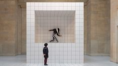 'The Squash' Installation by Anthea Hamilton at Tate Britain [London] | Trendland