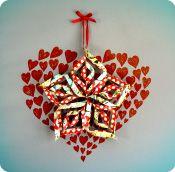 Cor d'estel - Empresa comprometida con la Fundación Vicente Ferrer Hearts, Craft Ideas, Christmas Ornaments, Holiday Decor, Home Decor, Colors, Star, Decoration Home, Room Decor