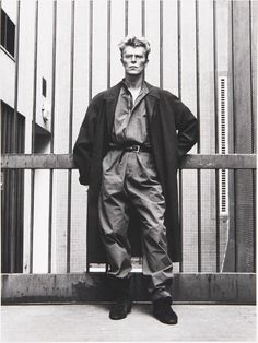 David Bowie - photographed by Helmut Newton                                                                                                                                                                                 More
