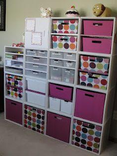 Craft Room Organization Ideas For You - craft room storage -