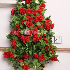 1 1 Branch Others Roses Wall Flower Artificial Flowers - AUD $4.56 ! HOT Product! A hot product at an incredible low price is now on sale! Come check it out along with other items like this. Get great discounts, earn Rewards and much more each time you shop with us!