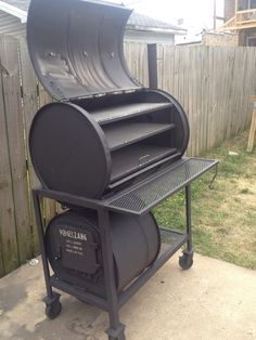 Discover thousands of images about Smoker. Can you imagine the brisket I can make on this thing?