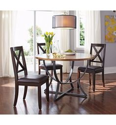 canvas arc round table 46 in canadian tire decor dining rh pinterest com