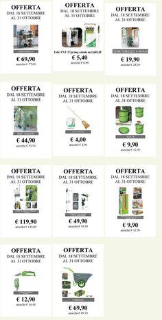 Le PROMOZIONI del servizio Garden del Consorzio Agrario di Siena, valide dal 18 settembre al 31 ottobre. Scopri di più su www.capsi.it