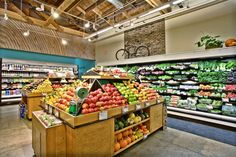 Green Zebra micro-format fresh-grocer by King Retail Solutions, Portland – Oregon » Retail Design Blog