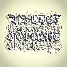 #calligraphy #caligrafia #lettering #calligraffiti #handwritten #handstyles #letters #handmade #blackletter #gothic #fraktur #showusyourtype #goodtype #typedaily #typespire #thedailytype #typographyinspired #typeverything #letteringco #typegang