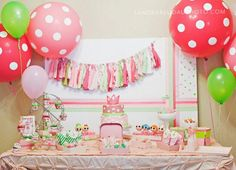 Lalaloopsy party - gorgeous!! Love this!