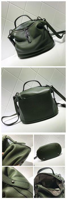 Women Fashion Leather Bag Handbag Messenger Bag Shoulder Bag Cross Body Bag AM05 Overview: Design: Women Fashion Handbag In Stock: 3-5 days For Making Include: Only Handbag Color: Wine Red, Khaki, Gre