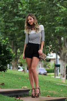 Stripes and leopard!