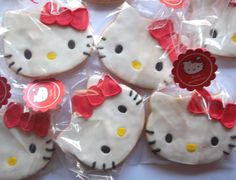 Galletita creativa Hello Kitty.
