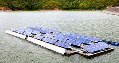 Sustentabilidade Energética Solar Termosolar e Eólica : Usina Solar Flutuante