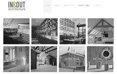 Réalisation du nouveau site internet In & Out Architecte #Brest http://www.inout-architecture.com/