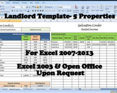 21 Best Rental Property Management Templates Images In