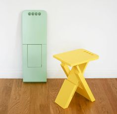 Sgabo Folding Stool by Alessandro Di Prisco in home furnishings Category