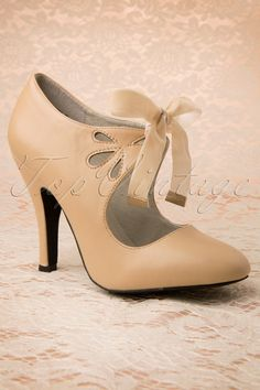 Coco Shoes - 40s Hailee Pumps in Nude