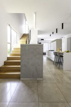 Residence In Moreshet - Picture gallery #architecture #interiordesign #staircases