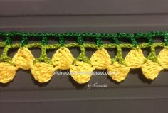 Crochet Edging Tutorial and Pattern (inspiration, i m sure i can find something to do with it)
