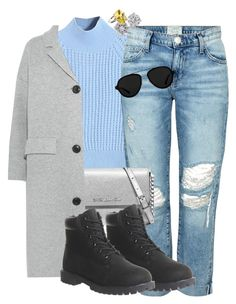 """:)"" by heybrub ❤ liked on Polyvore featuring WithChic, Current/Elliott, Michael Kors, Timberland, Burberry, 3.1 Phillip Lim, Bottega Veneta, women's clothing, women's fashion and women"