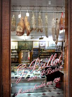 butcher shop. le marais, paris
