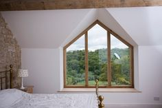 A bespoke gable end window for a house near Bradford on Avon, Bath
