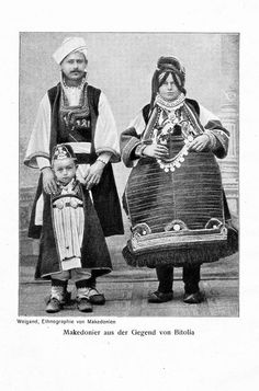 Macedonians from the region of Bitola.