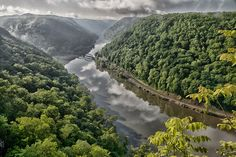 I cannot account for her eternal beauty or verdurous ways...    I only can tell you that she wanders endlessly through the chambers of  my heart...and so when I come here I think of her... ---- Hawk's Nest Overlook, West Virginia