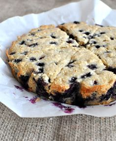 #paleo Blueberry Scones:  1 ½ C Cashews; ¼ C Arrowroot; Pinch of Salt; 1 tsp Baking Powder; 1 C Fresh Blueberries; ¼ C Extra Virgin Coconut Oil; 3 T Maple Syrup; 2 tsp Vanilla Extract; 1 Egg