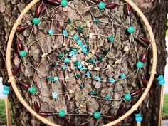 Dream Catcher Turquoise Malachite and Picture Jaspe, via Flickr.
