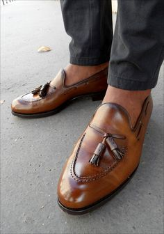 Love a pair of tassel loafers!