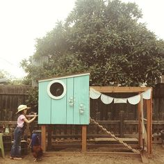 Cutest chicken coop (Photo by Kristin Rogers)