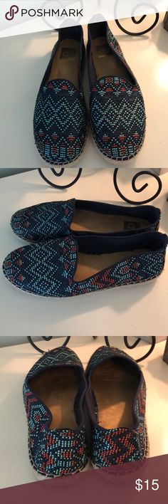 Dolce Vita for Target espadrilles, size 9. Gorgeous DV for Target blue, teal and coral espadrilles in EUC. Size 9. So comfortable and great with dresses, shorts or jeans. No trades, no PayPal. Smoke and pet free home. DV by Dolce Vita Shoes Espadrilles