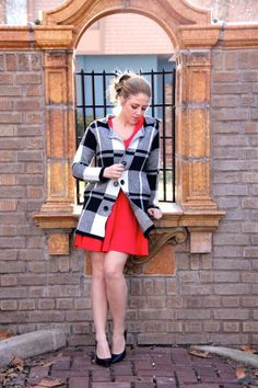 Checkered Plaid Sweater: Featuring Jess Lea Boutique | Style Gala