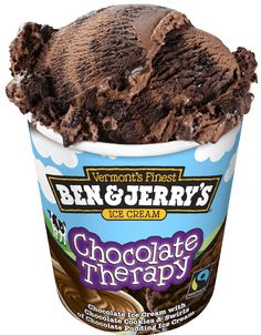 Sometimes this is all that will do. Chocolate Therapy Ice Cream | Ben Jerry's