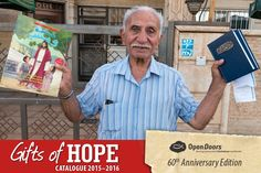 Bless a persecuted believer with a this Christmas. Give a Bible. Go to our Gifts of Hope Gift of Hope Gift Catalogue where will bless one believer with a here: Hard Pressed, Donate Now, 60th Anniversary, Persecution, Make A Donation, Christians, Believe, Blessed, Forget