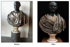 Unknown Portrait Bust Restored | Friends of the Uffizi Gallery