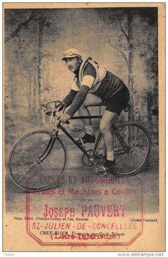 François Chevalier (1893-1983). Cartolina Postale. Didascalia < CHEVALIER François sur Cycle Dilecto > [Imp. Phot. Charles Collas er Cie, Nantes. Cliché Guilbert] (www.delcampe.net)