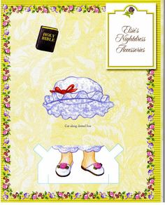 ELSIE DINSMORE Paper Doll Collection 29 of  36