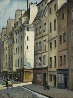 Quartier Latin, Paris, France Christopher Richard Wynne Nevinson (1889–1946) Northampton Museums & Art Gallery