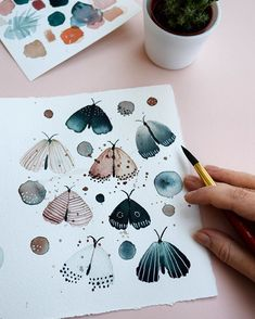 animals activities for kids Inga Buividavice auf I - animals Watercolor Pattern, Abstract Watercolor, Watercolor And Ink, Watercolour Painting, Painting & Drawing, Watercolors, Watercolor Artists, Watercolor Flowers, Watercolor Portraits