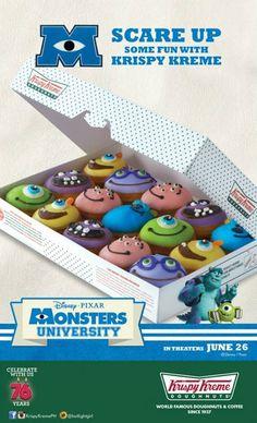 Krispy Kreme Monsters University Cebu - Google Search