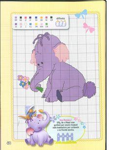 Winnie the Pooh Cross Stitch - Heffalump