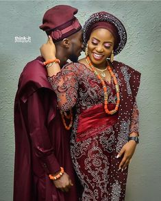 Image may contain: 1 person Nigerian Wedding Dresses Traditional, Traditional Wedding Attire, African Traditional Dresses, African Print Fashion, African Fashion Dresses, African Dress, Fashion Outfits, Couples African Outfits, Couple Outfits
