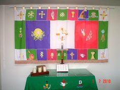 símbolos e cores litúrgicas