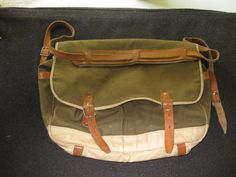 Vintage Canvas Fishing Bag