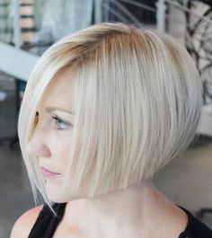 Chin-Length+Blonde+Bob
